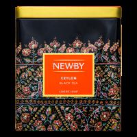 Чай Newby Ceylon чорний ж/б 125г х6