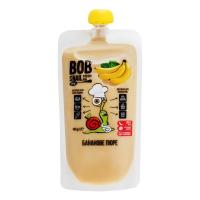 Пюре Bob Snail фруктове банан д/п 400г