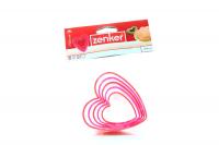 Форма Fackelmann Zenker д/виріз. печива серця 5шт арт.684747