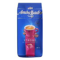 Кава Ambassador Strong у зернах 500г х6