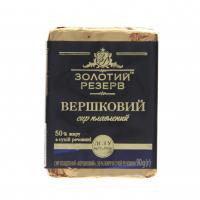 Сир плавлений Золотий Резерв Вершковий 50% 90г