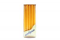Свічка Bispol Renaissance S30-10 10шт. жовта-конічна