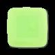 Тарілка квадратна пластикова 22*22см з кришкою