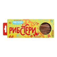 Товстолоб Рибстери соломка солоно-сушена 50г х15