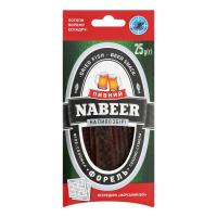 Форель Nabeer солоно-сушена філе-соломка 25г
