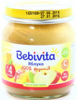 Пюре Bebivita яблуко с/б 100г х6