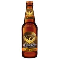Пиво Grimbergen Double-Ambree темне пастеризоване 6,5% 0,33л с/б