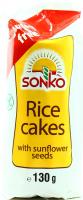 Галети Sonko рисові з насінням соняшника 130г