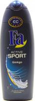 Гель Fa для душу Active Sport Гінкго 250мл