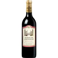 Вино Baron De Lirondeau Rouge 0.75л