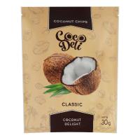 Чіпси Cocodeli кокосові солодкі 30г