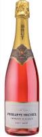 Вино ігристе Philippe Michel Brut Rose рожеве сухе 0,75л