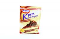 Крем для торта Dr.Oetker шоколадний 55г х15