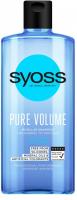 Шампунь міцелярний для волосся Syoss Pure Volume, 440 мл