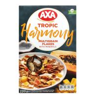 Пластівці Axa Harmony з тропічними фруктами 220г х12