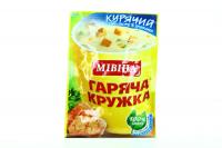 Суп-пюре Мівіна Курячий з грінками 12г х32