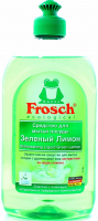 """Концентрат безфосфатний для миття посуду Frosch """"Зелений лимон"""", 500 мл"""