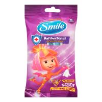 Дитячі вологі серветки Smile Antibacterial Фіксики, 15 шт.