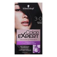Крем-фарба стійка для волосся Schwarzkopf Color Expert №3-0 Чорно-Каштановий