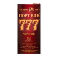 Вино Перлина Бурнасу Порт Вин 777 червоне 1л B&B х6