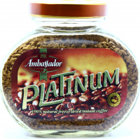 Кава Ambassador Platinum натуральна розчинна 95г