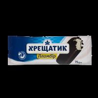 Морозиво Хрещатик Пломбір в глазурі 75г