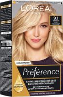Фарба для волосся L`Oreal Recital Preference 9.1