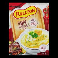 Пюре Rollton картопляне зі смаком м`яса 40г х24