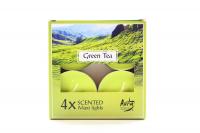 Свічка Aura Green Tea 4шт. WPZ-040083