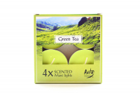 Свічка Aura Green Tea 4шт. WPZ-040083