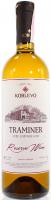 Вино Koblevo Traminer біле сухе 0,75л х6