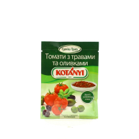 Приправа Kotanyi томати з траввами та оливками 20г х6