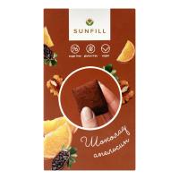 Цукерки Sunfill Шоколад-апельсин 150г х6