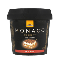 Морозиво Три Ведмеді Monaco Тірамісу 70г