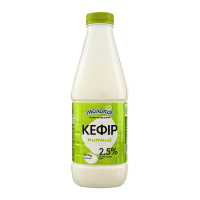 Кефір Молокія питний 2,5% 870г пляшка х12
