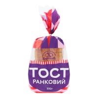 Хліб Цархліб Тост Ранковий нарізаний скибками 0,33кг в уп