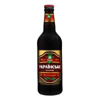 Пиво Микулинецьке Українське живе темне непастеризоване 4,3% 0,5л с/б