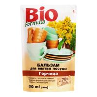 Засіб Bio Formula Бальзам д/мит.посуду Горчиця д/п 500мл х12