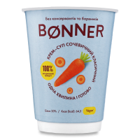 Крем-суп Boner сочевичний класичний 50г стакан х32