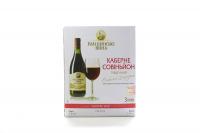 Вино Голіцинські вина Каберне Совіньйон напівс.червB&B 3л х2