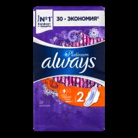 Гігієнічні прокладки Always Platinum Ultra Normal Plus, 30 шт.