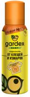 Аерозоль для обробки дитячого одягу від кліщів та комарів Gardex Baby, 100 мл