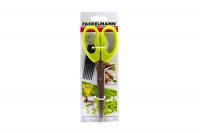 Ножиці Fackelmann д/нарізки зелені арт.48125 х6