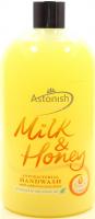 Крем-мило антибактеріальне рідке Astonish Milk & Honey, 500 мл