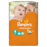 Підгузники Pampers Sleep&Play Maxi 7-14кг 14шт. х6