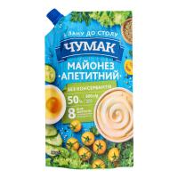 Майонез Чумак Апетитний 50% д/п 300г