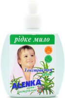 Мило Аленка рідке дитяче з алое антибактеріальне 150г