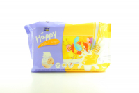 Серветки Happy Milk&Honey дитячі вологі 64шт х6