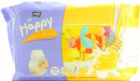 Дитячі серветки вологі гігієнічні Bella Baby Happy Milk & Honey, 64 шт.