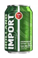 Пиво Hollandia Import світле фільтроване 4,8% 0,33л ж/б